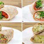 4 Healthy Wrap Recipes