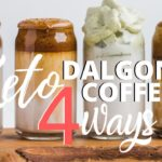 4 WAYS TO MAKE KETO DALGONA COFFEE | EASY SUGAR FREE DALGONA COFFEE RECIPES