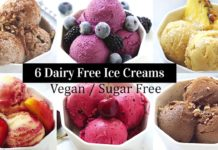 6 Dairy Free Ice Cream Recipes (Vegan, Whole30, Sugar Free, Gluten Free) Nice Cream