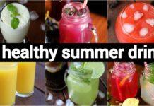 6 healthy summer drinks recipes |  गर्मी की 6  ठंडी ड्रिंक रेसिपीज | 6 summer juice recipes |