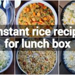 6 instant rice recipes for lunch box   quick, easy & healthy rice recipes