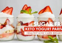 Best SUGAR FREE Yogurt Parfait | EASY SUMMER KETO BREAKFAST | Healthy LOW CARB Meal Prep