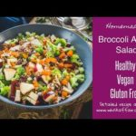 Broccoli Apple Salad Recipe (Healthy, Vegan)