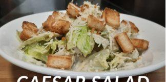 Caesar Salad Recipe   क्लासिक सीज़र सलाद   Easy Caesar Salad   How To Make Caesar Salad At Home