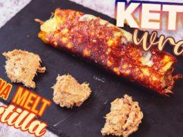 Cheese Wrap KETO Recipe 🌯 Tuna Melt NO FLOUR