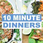 EASY 10 Minute Dinner Recipes | Healthy Dinner Ideas | Keto and Paleo Recipes