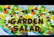 Easy Garden Salad (Simple, Fresh and Healthy)