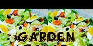 Easy Garden Salad (Simple, Fresh and Healthy)