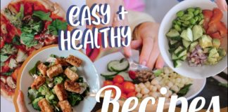 Easy + Healthy Recipes for College Students | Ella Elbells