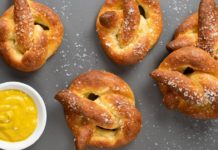 Easy Keto Soft Pretzels Recipe - Low Carb German Bread with a Delicious Yeasty Aroma (2g Net Carbs)