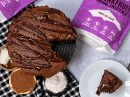 Easy Vegan Chocolate Cake (Sugar-free)