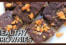 Eggless, Gluten Free, Oil Free, Sugar Free Brownie | Healthiest Brownie | Low Calorie Brownies