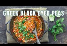 Greek Black Eyed Peas Recipe Vegan | The Mediterranean Dish