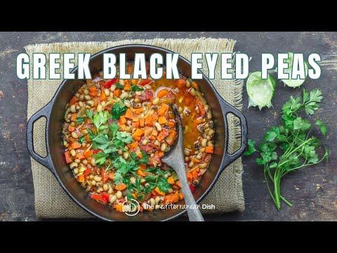 Greek Black Eyed Peas Recipe Vegan   The Mediterranean Dish