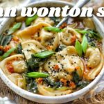 HOMEMADE VEGAN WONTON SOUP | PLANITFULLY BASED