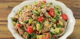 Healthy Avocado and Tuna Salad Recipe