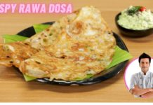 Healthy Instant Rawa Dosa Recipe | Crispy Sooji Dosa | रवा दोसा सूजी का | Chef Kunal Kapur