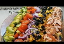 Healthy salmon avocado salad recipe by subway fix it from beginner to expert (in 10 minutes)