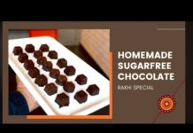 Homemade Sugar Free Chocolate Recipe | Weight Loss Recipe | By Dietitian Mac Singh