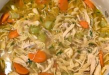 How To Make Chunky Chicken Noodle Soup Recipe |  HOMEMADE