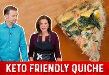 How to Make Quiche Keto Friendly Recipe | Karen and Eric Berg