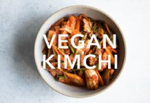 How to Make Vegan Kimchi (Small Batch Recipe)