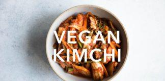 How to Make Vegan Kimchi (Small Batch Recipe)