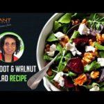 How to make Beetroot and Walnut Salad | Healthy Recipes | Sridevi Jasti | Vibrant Living