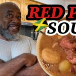 How to make RED PEA SOUP!  (With PIGTAIL & COW FOOT)