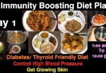 Immunity Boosting Diet Plan| Day 1| Healthy Recipes | Diabetes/ Thyroid/High BP Friendly| Swatistaan