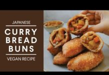 JAPANESE CURRY BREAD BUNS (Kare Pan) | Vegan Recipe