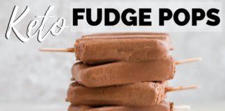 KETO FUDGE POPS | SUGAR FREE FUDGESICLES | keto popsicle recipe