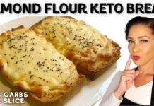 KETO RECIPE | The Most Delicious Keto Bread - NO Eggy Taste