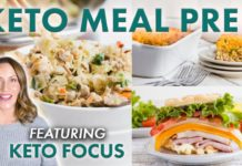 Keto Meal Prep for Every Meal! (feat. @KetoFocus)