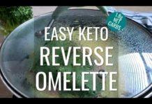 Keto Reverse Omelette Recipe