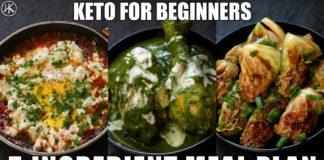 Keto for Beginners - 5 Ingredient Keto Meal Plan #1 | How to start Keto | Free Keto Meal Plan