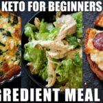 Keto for Beginners - 5 Ingredient Keto Meal Plan #2 | How to start Keto | Free Keto Meal Plan