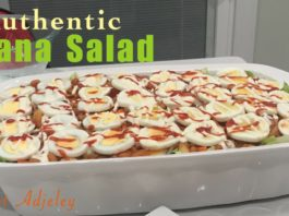 Let's Make The Authentic Party Pleasing Ghana Salad