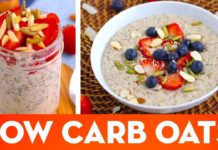 Low Carb Oatmeal! Hot Porridge & Overnight Oats Keto Breakfast Recipes - Mind Over Munch