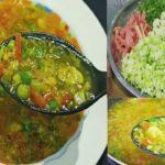 Mixed Vegetable Soup Recipe   Healthy Vegetarian Soup   Soup Recipe   Quick and easy Vegetable Soup