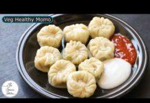 No Maida, No Atta Healthy & Tasty Veg Momo Recipe | Better Than Street Momo ~ The Terrace Kitchen