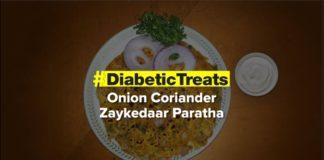 Onion Coriander Zaykedaar Paratha | Diabetic Treats | Healthy Diabetic Recipe | Dr.Roshani Gadge