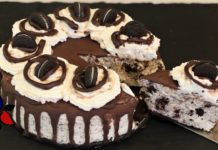 Oreo Cookie Cheesecake – No Bake Keto, Gluten Free | Keto Recipes | Sugar Free Dessert