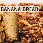PALEO BANANA BREAD | Sugar-free, gluten-free, dairy-free