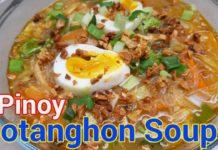 Pinoy Sotanghon soup