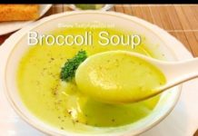 QUICK BROCCOLI SOUP    WEIGHT LOSS    PROTEIN RICH    HOMEMADE SOUP RECIPES