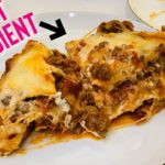 Secret ingredient for THE BEST keto lasagna (without zucchini!) in 1 Minute #shorts