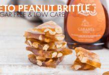 Simple KETO PEANUT BRITTLE Recipe | Sugar Free Nut Brittle