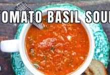 The Best Roasted Tomato Basil Soup!