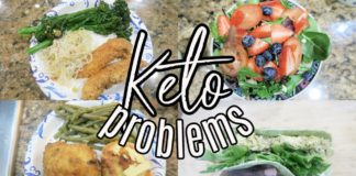 The ugly side of KETO + one of my FAV Keto recipes / KETO breakfast Lunch and Dinner ideas
